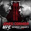 UFC 182: Джонс Джонс-Даниэль Кормье. 3 января